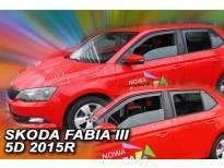 комплет ветробрани Heko за Skoda Fabia 5 врати хечбек/караван по 2014 година 4 бројки