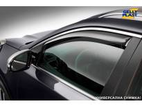 Предни ветробрани Gelly Plast за Nissan Navara 2005-2014 с 4 врати, черни, 2 броя