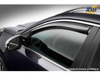 Предни ветробрани Gelly Plast за Renault Clio 2012-2019, черни, 2 броя