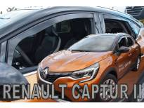 Комплект ветробрани Heko за Renault Captur след 2019 година, тъмно опушени, 4 броя