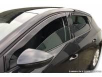 Комплект ветробрани Heko за Nissan Leaf 2010-2017, тъмно опушени, 4 броя