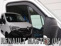 Предни ветробрани Heko за Renault Master, Opel Movano, Nissan NV400 след 2010 година, тъмно опушени, 2 броя, по цялата дължина на прозореца