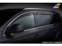 Комплект ветробрани Gelly Plast за Toyota Hilux след 2015 година с 4 врати, черни, 4 броя