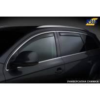 Комплект ветробрани Gelly Plast за Renault Kajar след 2015 година, 4 броя, черни