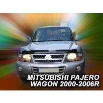 Дефлектор за преден капак за Mitsubishi Pajero Wagon след 2000 година