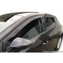 Комплект ветробрани Heko за Nissan Leaf след 2017 година, тъмно опушени, 4 броя