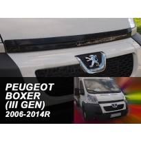 Дефлектор за преден капак за Peugeot Boxer III/Fiat Ducato III/Citroen Jumer III 2006-2014
