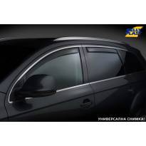 Комплект ветробрани Gelly Plast за Renault Clio 2012-2019, черни, 4 броя