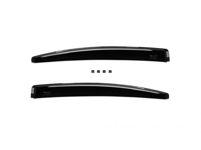 Heko 4 pieces Wind Deflectors Kit for BMW 3 series E90 sedan 2005-2012 3