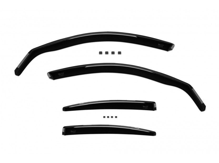 Heko 4 pieces Wind Deflectors Kit for BMW 3 series E90 sedan 2005-2012