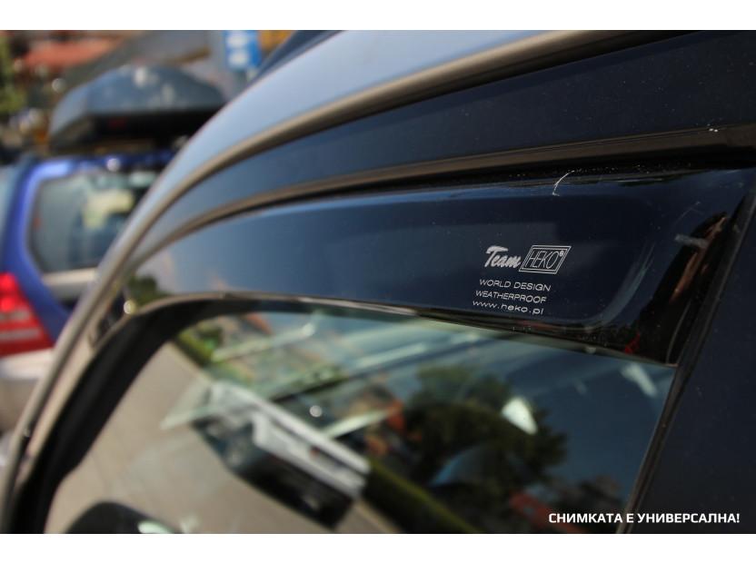 Heko 4 pieces Wind Deflectors Kit for BMW 3 series E90 sedan 2005-2012 5