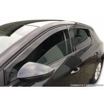 Heko 4 pieces Wind Deflectors Kit for Peugeot 405 5 doors sedan